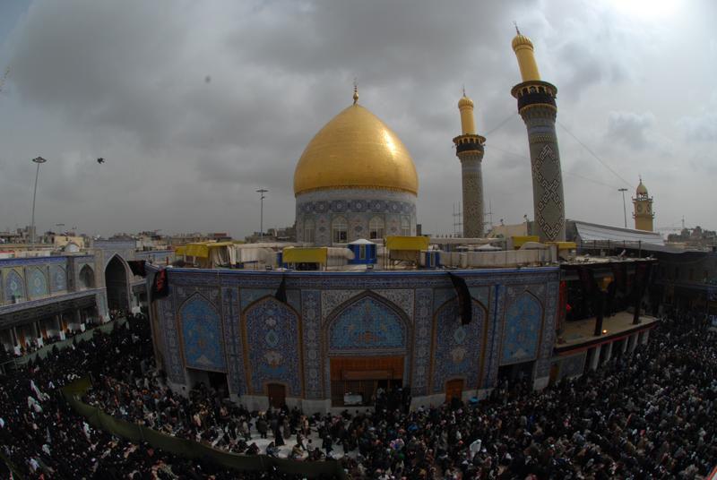 تصاویر گنبد امام حسین علیه السلام