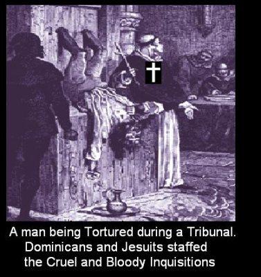 عکسهایی از شبه داعشیها / تفتیش عقاید و شکنجه های مسیحیت در قرون وسطی