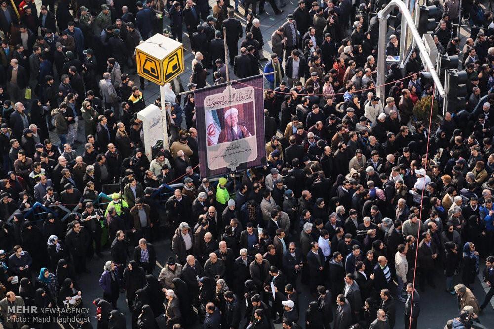 रफसंजानी का अंतिम संस्कार, तस्वीरें