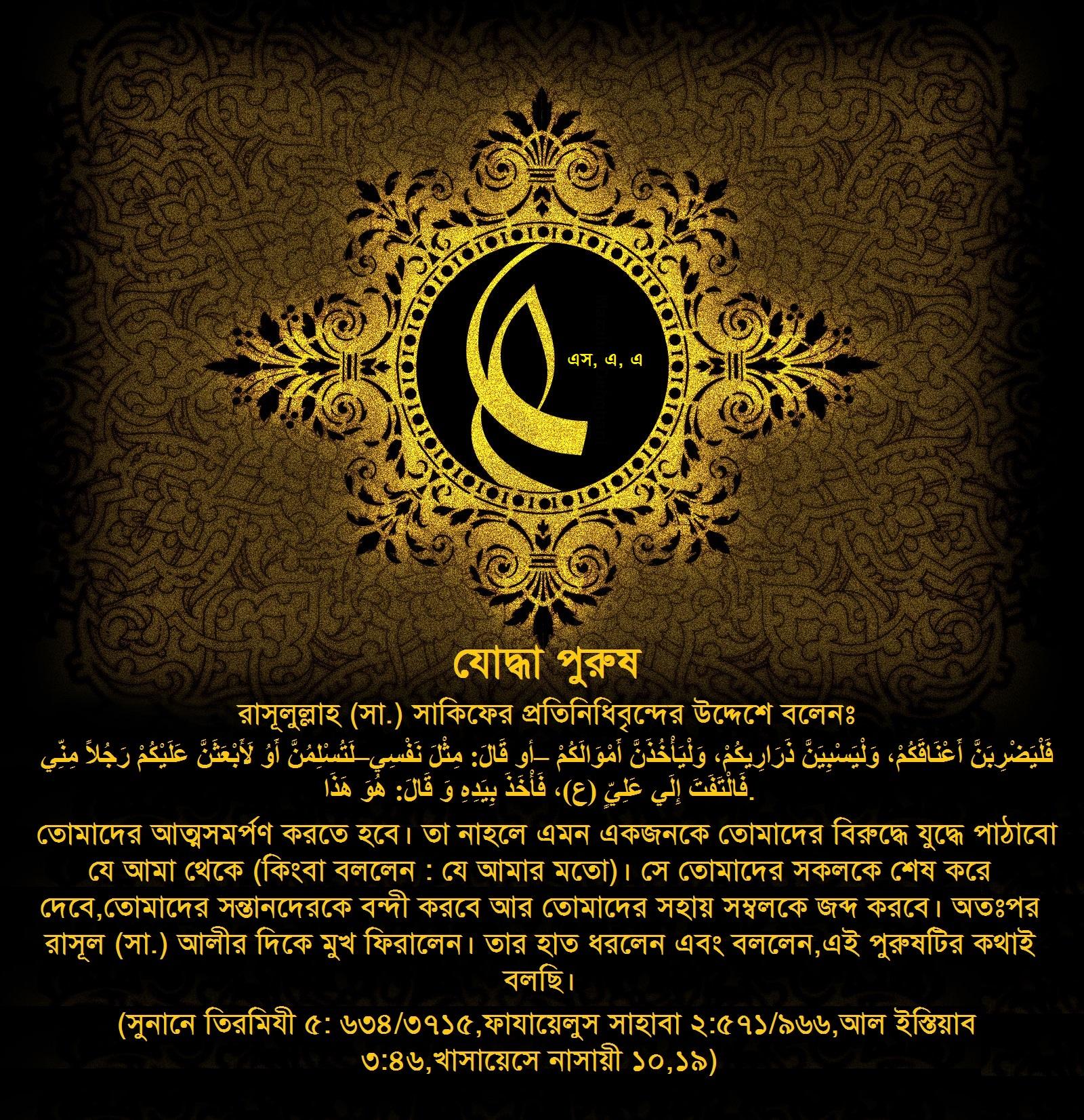 ইমাম আলী, হজরত আলী, মওলা আলী,  হাদীস, ইসলামী পোষ্টার, নাজাফ, গাদ্বির, খায়বার, জামালের যুদ্ধ, সিফফিনের যুদ্ধ, খারেজি,