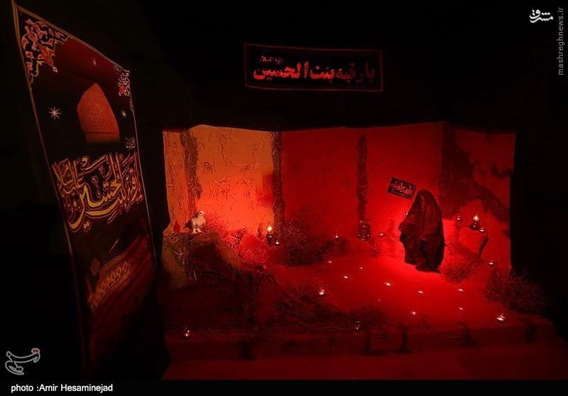 تصاویر سفره نذری حضرت رقیه(س) به مناسبت شب شهادت این بانوی بزرگوار سال 1393