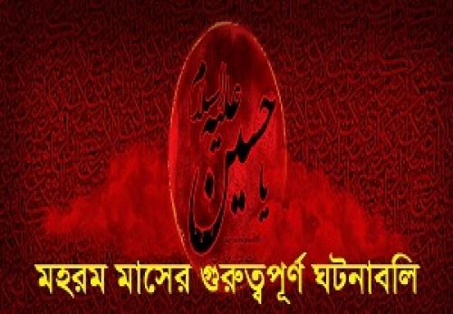 মহরম, আশুরা, শামে গারিবান, ইমাম হুসাইন, কারবালা,