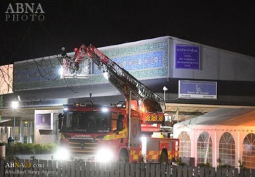 آتش سوزی عمدی در مرکز اسلامی امام علی(ع) در استکهلم