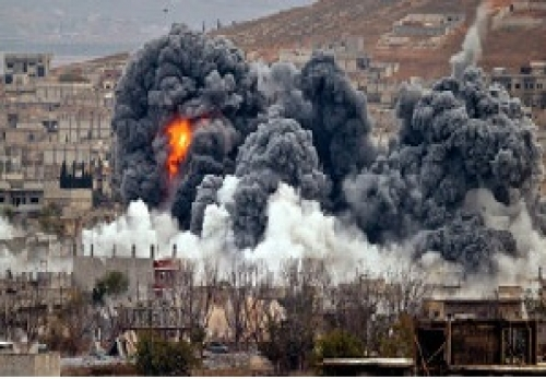 U.S., bombs, Muslim, countries, Middle East, South Asia, Syria, Iraq