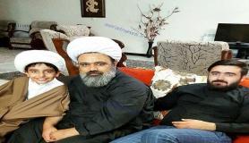 تصویری متفاوت از حجت الاسلام دانشمند و فرزندانش