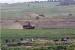 Gazze sınırında mayına çarpan işgal ordusuna ait askeri araç hasar gördü