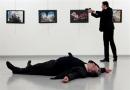 فیلم ترور سفیر روسیه در ترکیه/لحظه ترور سفیر روسیه