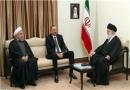 دیدار الهام علی اف و مقام معظم رهبری