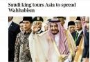 ساندی تایمز فاش کرد: سفر پادشاه عربستان با هدف ترویج وهابیت