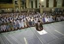 مقام معظم رهبری در جمع دانش آموزان و بیان بهترین راه ارتباط با خداوند