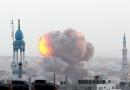 غزہ جل رہاہے۔۔