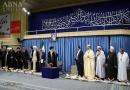 رہبر معظم سے قرآن کریم کے بین الاقوامی مقابلوں کے شرکاء کی ملاقات