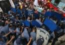 فلپائن میں عوام کا امریکی فوجیوں کی موجودگی پر احتجاجی مظاہرہ