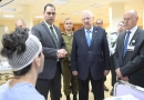 عیادت رئیس رژیم صهیونیستی از تروریستهای زخمی سوریه