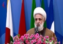 شیخ نعیم قاسم: ایران آرمان آزادسازی فلسطین را محقق میسازد