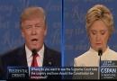 خلاصه مناظره سوم هیلاری کلینتون و دونالد ترامپ