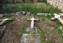 انتہا پسند یہودیوں کی مسیحی قبرستان کی بے حرمتی