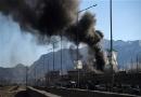 Blast, army base, Afghanistan, explosion, militant, Taliban