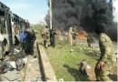 Blast, Evacuees, Aleppo, Civilians, Foua, Kefraya