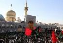 Mourn, Iran, Imam Rida, martyrdom, processions, mosques, Khorasan