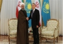 Iran, Kazakhstan, counterpart, Caspian Sea, tourism, bank, political, economic