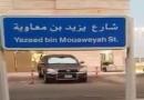 حماسه دینی آل سقوط با نامگذاری خیابانی با نام یزید/فیلم