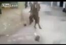 فوتبال داعش با سر مبارک شیعیان